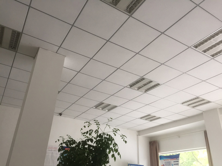 Wuhan Three Anti Plate PVC Paste Panel Calcium Silicate Gypsum Board Office  Facade Warehouse Supermarket Hotel Ceiling