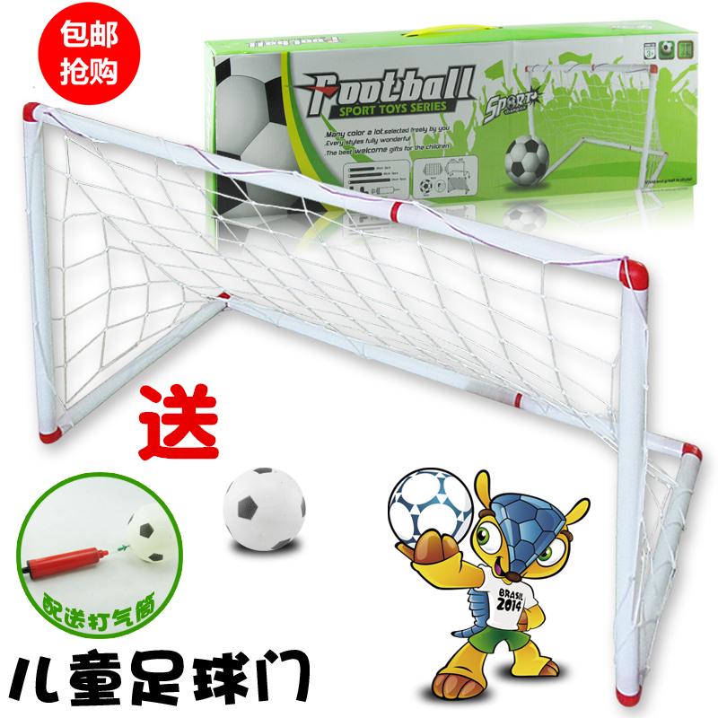 Большой размер ребенок футбол цели портативный складные дверная коробка сетка на открытом воздухе ребенок цель детский сад портал полка DK