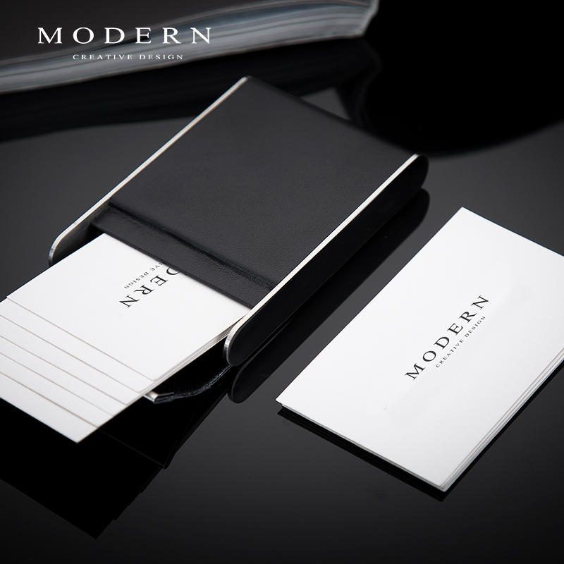 Usd 5986 german modern clamshell business card holder leather lightbox moreview lightbox moreview prevnext german modern clamshell business card holder colourmoves