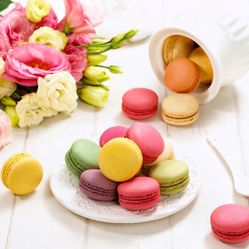 【玛呖德】马卡龙甜点礼盒装12枚法式糕点送礼情人节礼物甜品零食