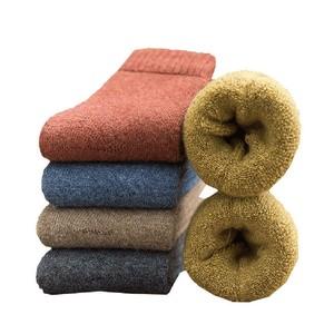 居家日用冬季袜子男士女士加厚加绒