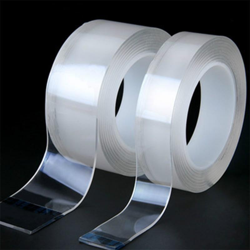 强力纳米双面胶透明无痕魔力胶带固定粘胶车用双面贴粘贴高粘度胶