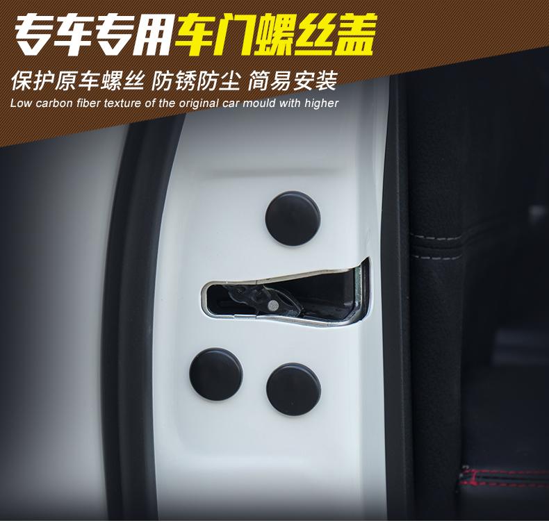 Ốp bảo vệ Vít cửa chống gỉ Honda CRV - ảnh 2