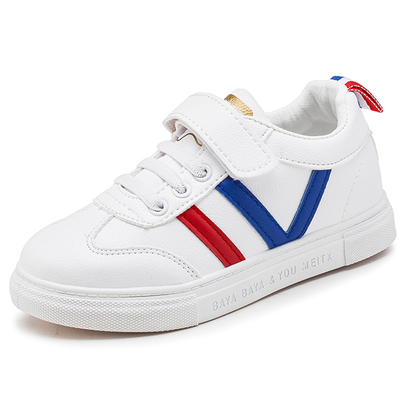 2021运动鞋透气儿童板鞋小白鞋