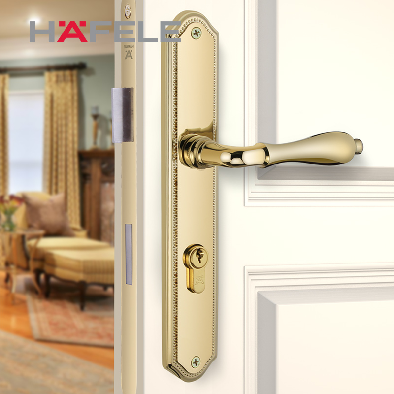 Hafele HAFELE door handles interior handles hand lock copper alloy ...