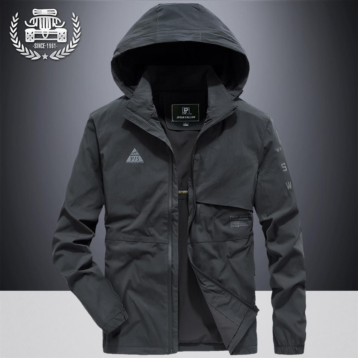 2020 áo khoác phong cách mới áo khoác nam mùa xuân và mùa thu xu hướng dụng cụ áo khoác bóng chày đồng phục thể thao áo khoác mùa thu lỏng - Đồng phục bóng chày