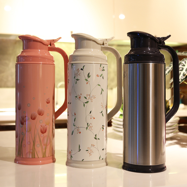 Thermos boiling water bottle thermos thermos insulation pot large capacity kettle home married office dormitory 2L