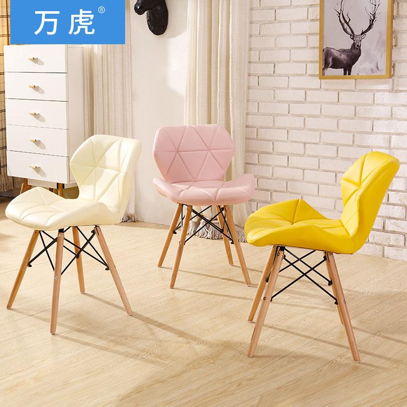 Эймс стул сейчас поколение Простой стол Председатель Главная стул стул стул компьютер стул твердой древесины скандинавский обеденный стул