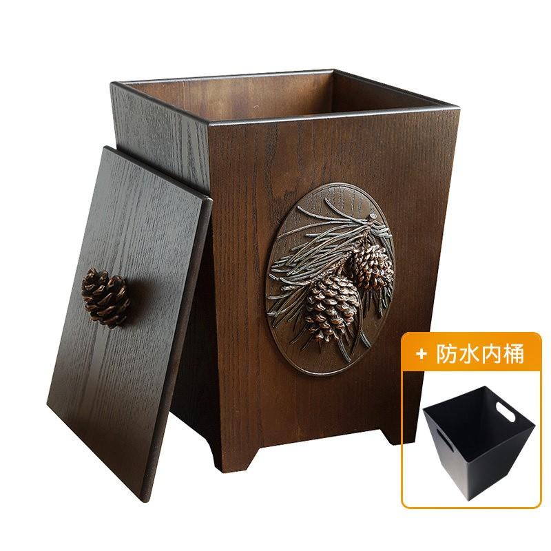 a-life最生活创意竹质纸巾盒 环保纸巾抽 B-3208