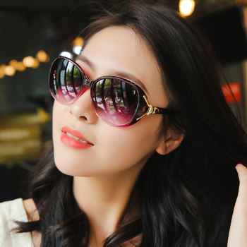2020 new polarized sunglasses round face sunglasses female UV Street beat Miss Han Banchao ins eye