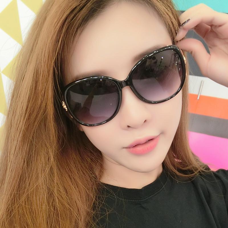 女2017新款太阳眼镜个性女士明星墨镜韩国复古圆脸潮流行圆形网红