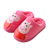 Children cotton slippers winter female 1-3-6 years old male home slip child warm baby slippers indoor cotton shoes with