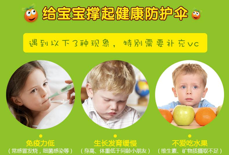 【补钙锌】佳思敏儿童复合维生素软糖 VC+vd组合促钙吸收儿童营养 ¥238.00 产品系列 第6张