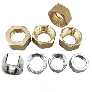 Copper 4 points 6 points 1 inch 1.2 inch 1.5 inch 2-inch stainless steel bellows joint nut nut gas pipe joint