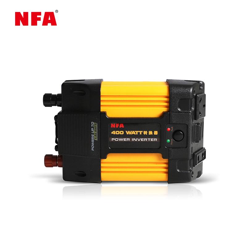 NFA纽福克斯车载逆变器12V转220V 400W汽车电源转换器7823