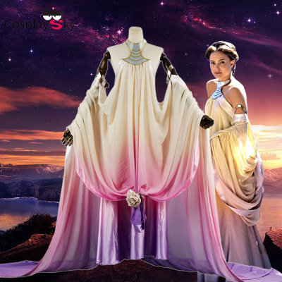 taobao agent Spot Star Wars 3: Revenge of the Sith cos Padmé Amidala Queen cosplay costume