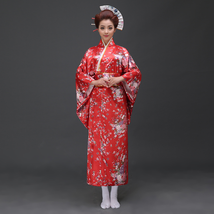 Hot Oriental Japanese Yukata Kimono Obi Cosplay Robe Geisha Dress Sleepwear | eBay