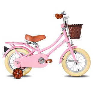 祺娃娃儿童自行车男孩女孩2-3-6岁宝宝14/16寸脚踏车幼童单车梦奇