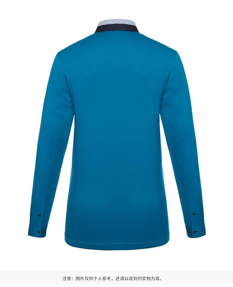 Satchi Sha Chi nam dài tay T-shirt 2018 mới linh hoạt kinh doanh T-shirt truy cập với cùng một đoạn áo thun thể thao