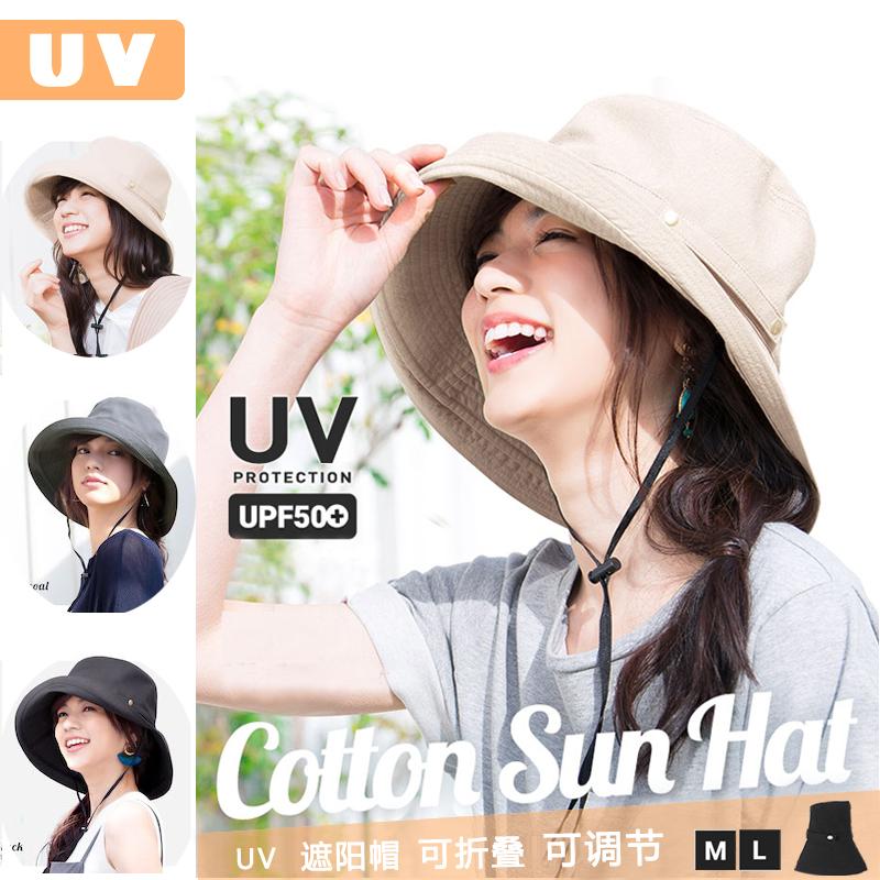 c3a5a3271629a Japan Irodori men and women summer outdoor foldable UV cover Face Sunscreen  UV fisherman Sun Basin hat
