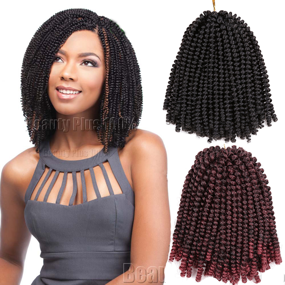 Gina Spring Crochet Twist Braids Hair Extensions Nubian Wigs