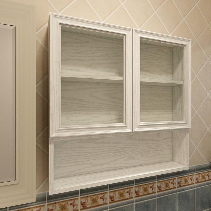Tùy chỉnh tất cả các tủ nhôm tường tủ phòng tắm không thấm nước tủ lưu trữ hợp kim nhôm tủ tường phòng tắm gương tủ kính cửa tủ tường - Buồng