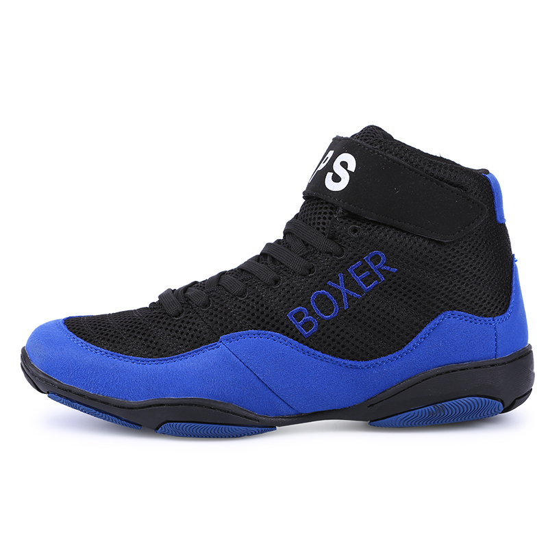 USD 26.94  APS men and women lightweight breathable wrestling shoes ... 9775fb75b