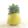 CRYSTAL VELVET PINEAPPLE 45X29 CM