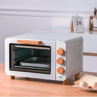 迷你复古多功能电烤箱15升