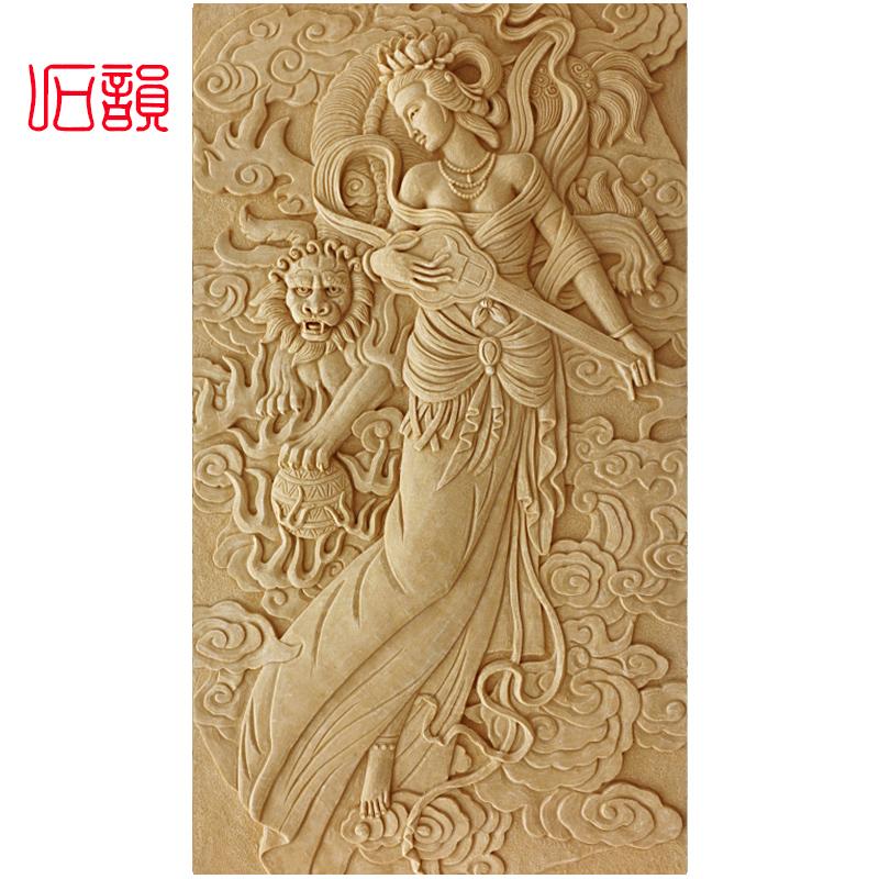 Песчаник рельеф континентальный искусственный искусство резьба фон стена рельеф фреска вилла может место подожди иностранных стена вход комнатный