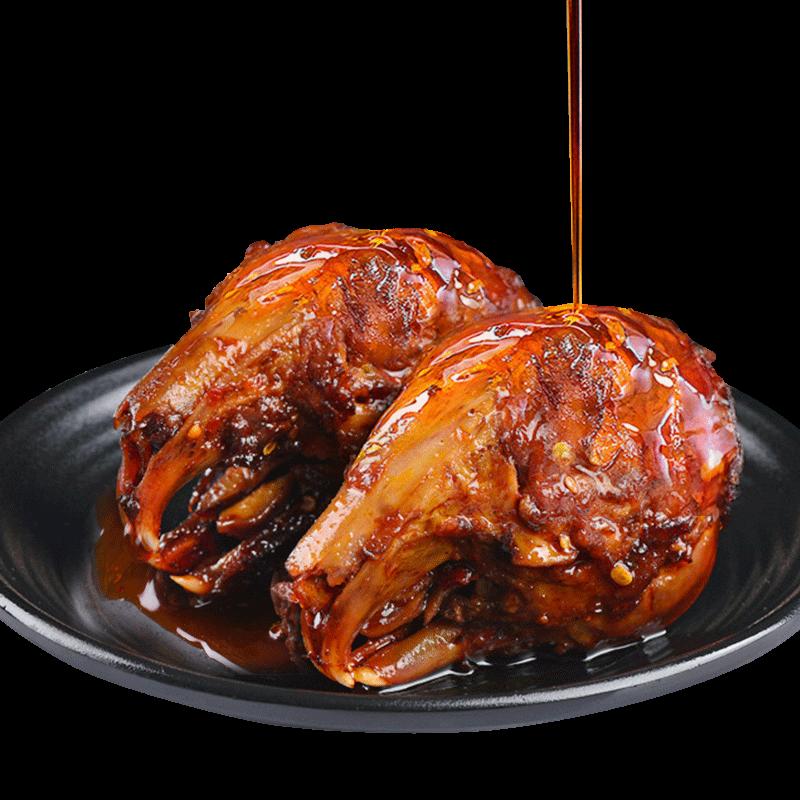 五香麻辣兔头四川成都特产即食小吃熟食兔肉兔腿香辣冷吃兔子肉