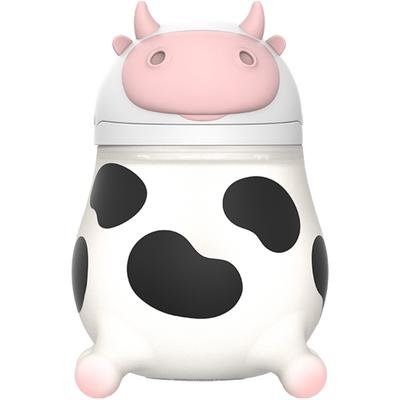 Baby Kingdom奶牛吸管杯婴儿学饮杯喝奶奶瓶1岁重力球水杯儿童夏的图片来自淘券快报,领券宝