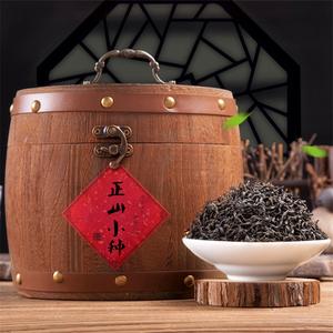 蚂蚁望月茶高端送礼实木木桶礼盒装