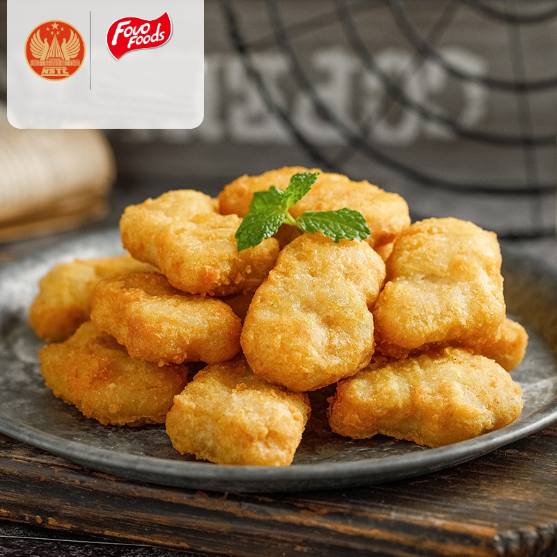 凤祥原味黄金鸡块冷冻半成品油炸乐享鸡块4袋共2000g