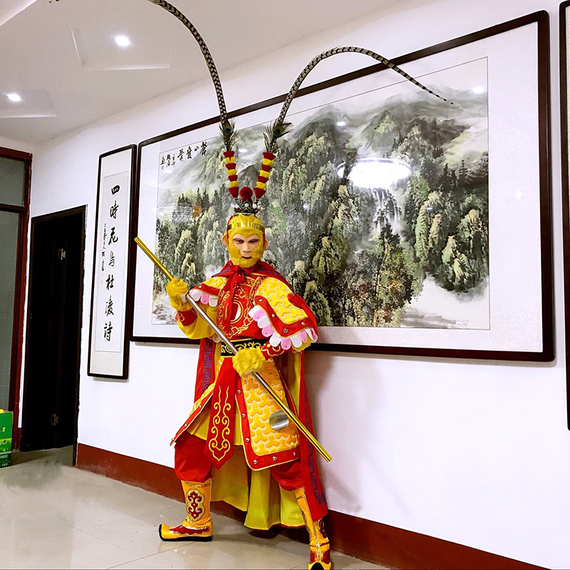 New Style Sun Wukong Cosplay Costumes Monkey Costumes Sun Wukong Costume Funny Cosplay Halloween Cosplay A Complete Range Of Specifications Kids Costumes & Accessories Costumes & Accessories
