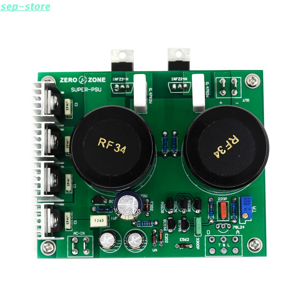 Supper Ultra Low Noise Linear Power Supply Lps Psu Kit 5v 9v 12v 15v Reducing Voltage Regulator And The Output Can Be Minute Adjustment It Is Very Easy Add One Suitable Transformer You Will Built A Hi End