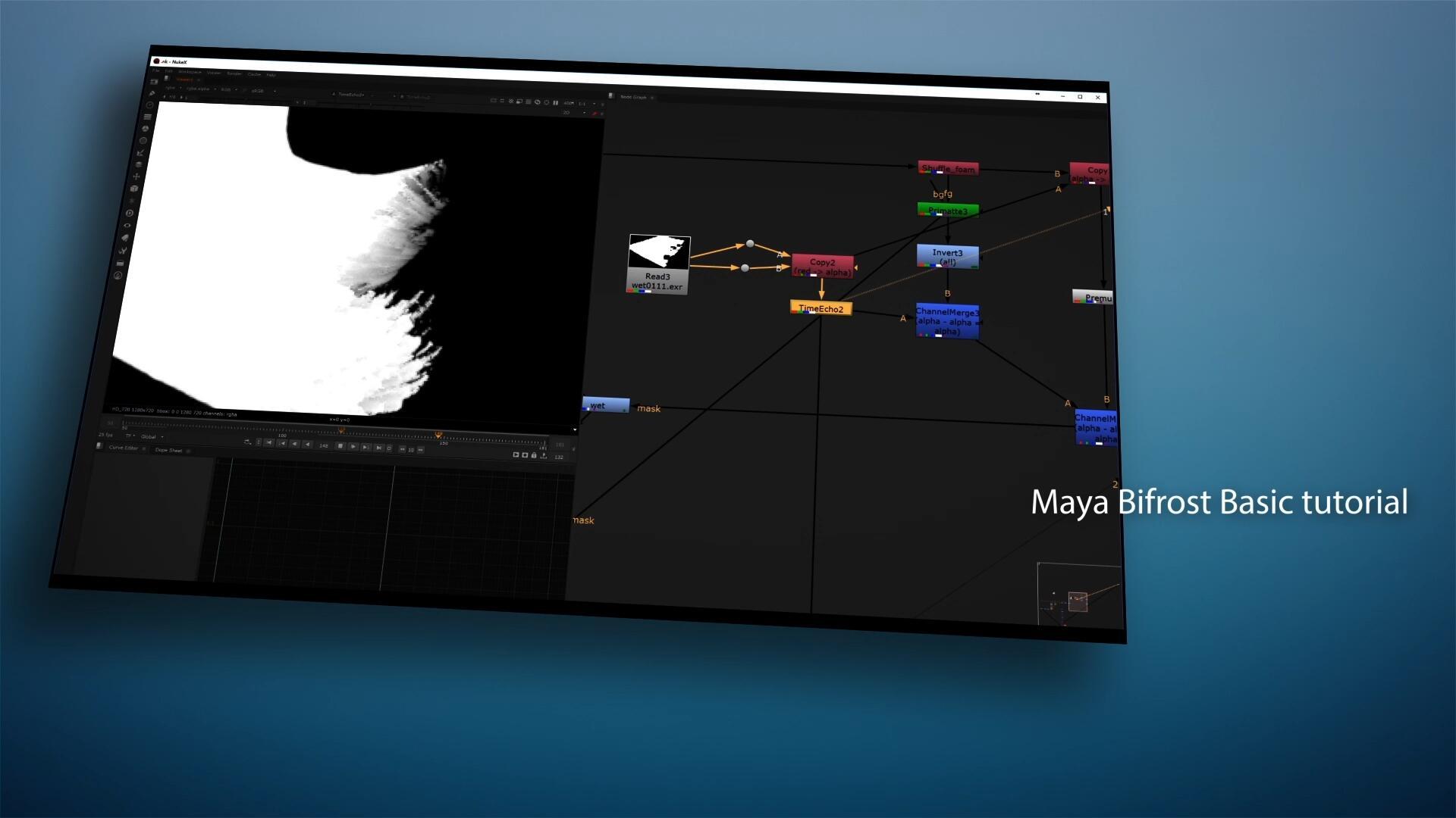 原创中文教程-影视级流体特效案例Maya Bifrost Basic Tutorial BF全面基础教程