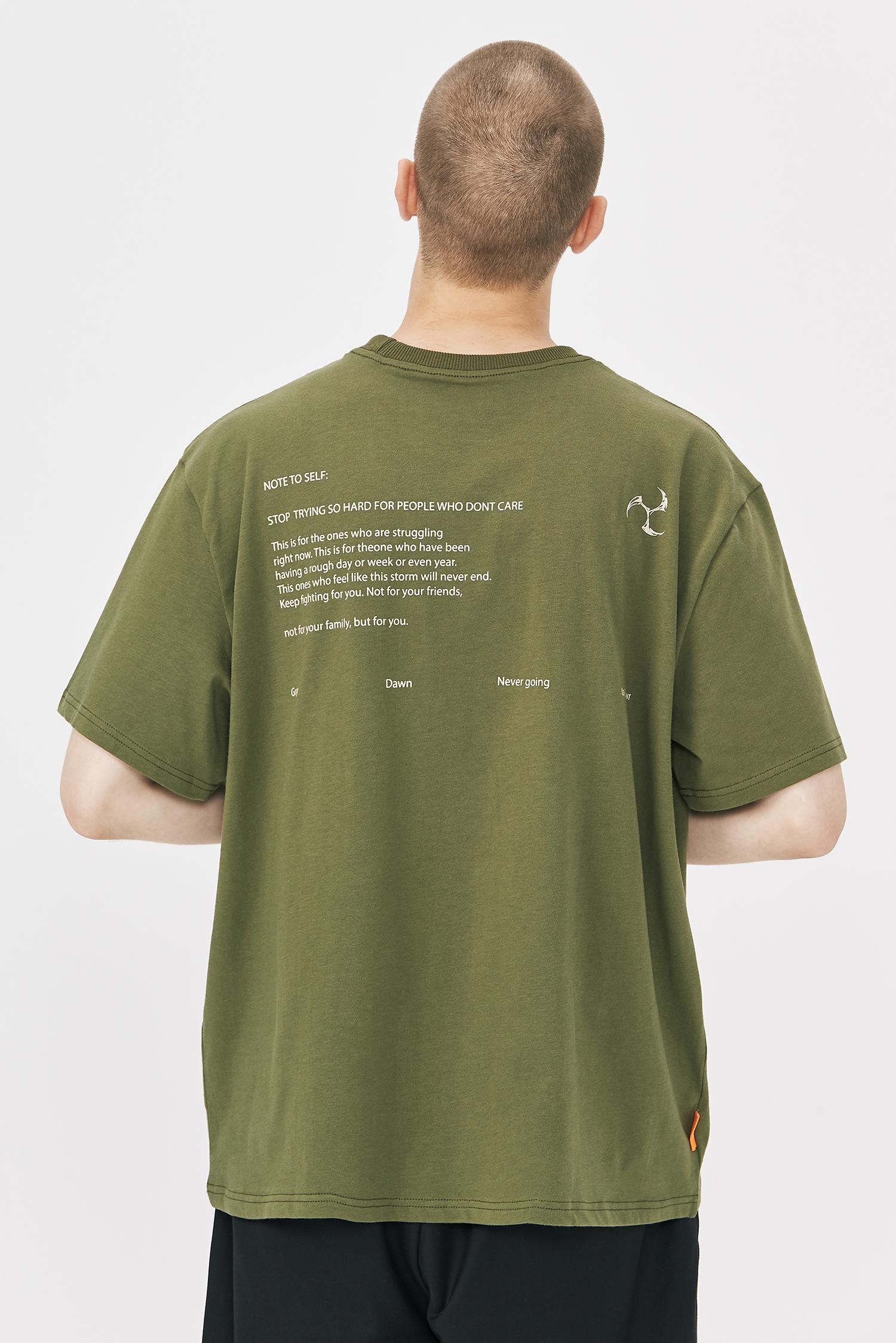 GRINCH1928「GAHA」美式复古英文印花短袖T恤男女宽松休闲半袖Tee(【GAHA】美式复古英文印花短袖T恤)