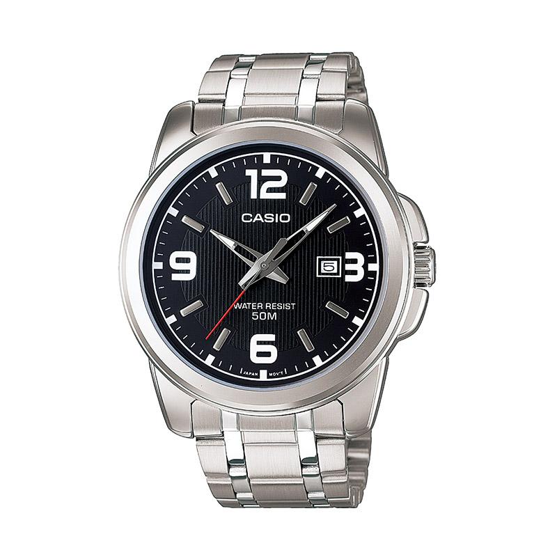 CASIO 卡西歐 指針系列 MTP-1314D-1A 男士時裝腕表