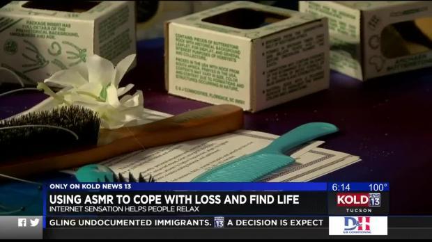 绿谷女人用ASMR来处理失去和生命