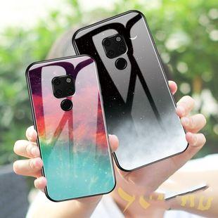 华为钢化玻璃手机壳星空图案