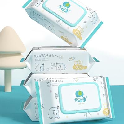 卡哇象【婴儿湿纸巾】80抽*5包