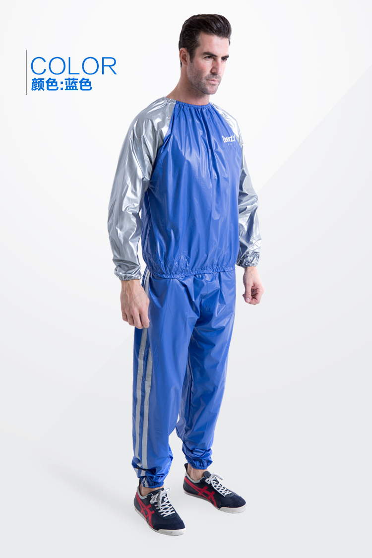 Sweat wear slimming clothing sauna clothing sweat suit for How to not sweat through dress shirts