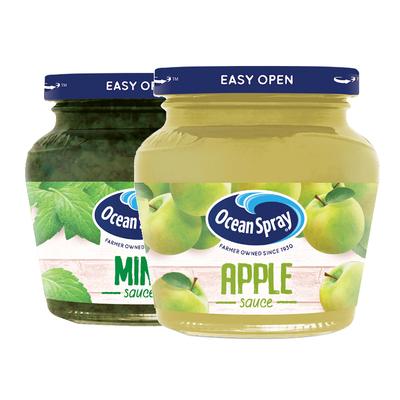 【临期】oceanspray优鲜沛果酱夹面包烘焙早餐薄荷/苹果果酱