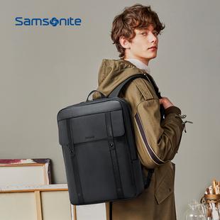 新秀丽男士电脑大容量双肩背包