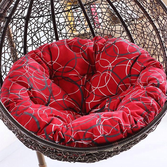 吊篮靠背沙发秋千鸟巢吊椅坐垫双人一体包邮垫子摇篮椅换洗布套座