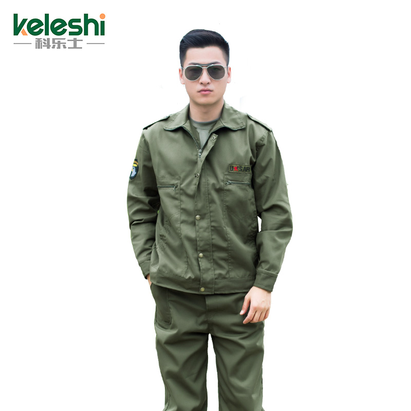Workwear suit men's labor protection clothing auto repair electric welding welding welding uniform as training clothing workshop factory clothes