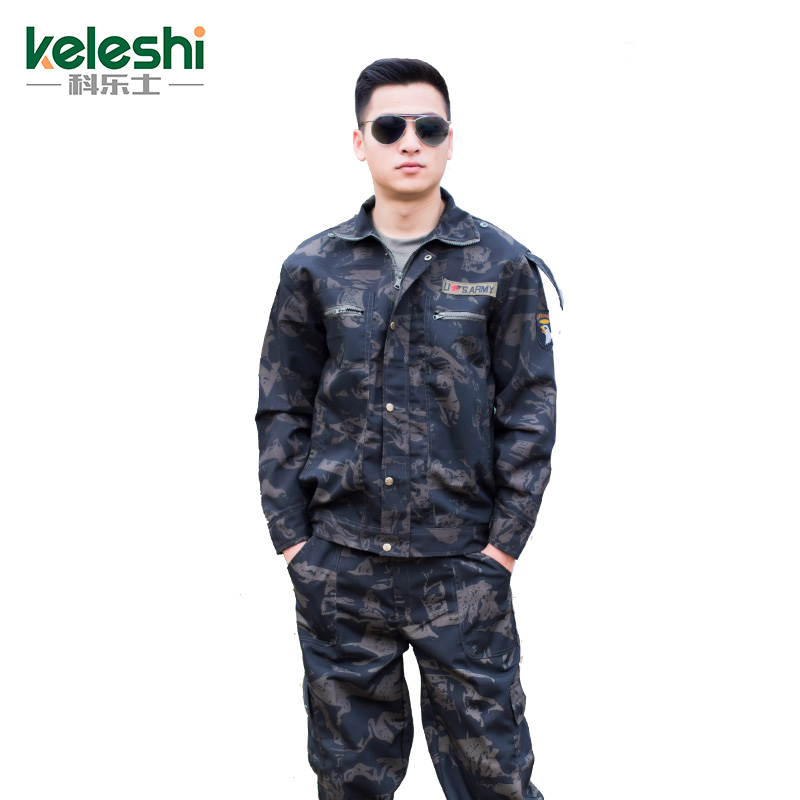 Black Eagle camouflage suit men's autumn military special forces for training outdoor field scratch wear overalls