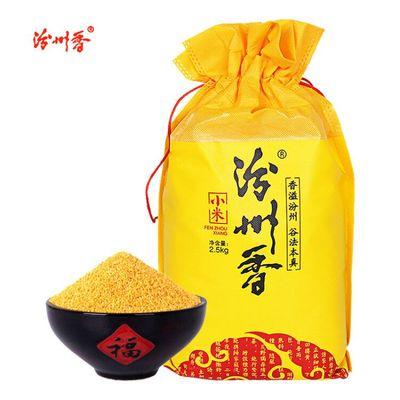 2020黄小米山西特产 非特级5斤 新鲜粗粮粮食杂粮 小米粥月子米
