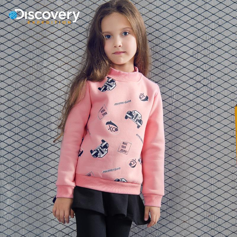 【Discovery】秋装新款女童连衣裙